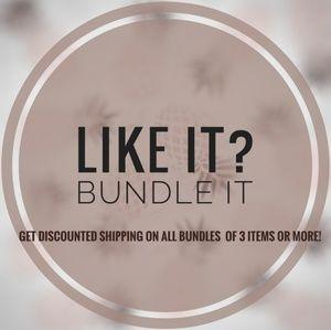 Other - Bundles get discounts!
